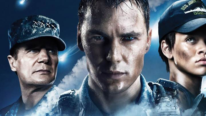 Battleship – Liam Neeson, Taylor Kitsch And Rihanna